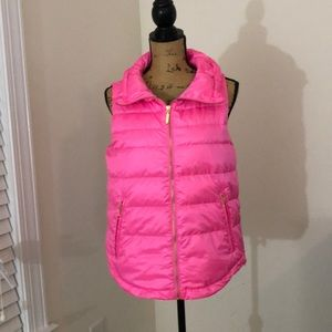2019 Lilly Pulitzer pink puffy vest